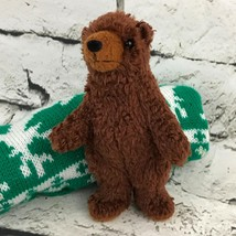 We're Going On A Bear Hunt Plush Brown Small Standing Grizzly Stuffed Animal - $9.89