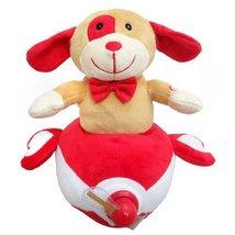 Wal Valentine Dog in a Plane Plush Toy - $30.37