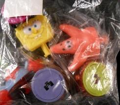 DecoPac SPONGEBOB Squarepants Wacky Launchers #11200 Cake Topper Toys - $9.99