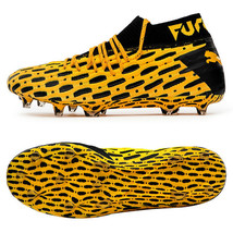 Puma Future 5.1 Netfit FG/AG Football Shoes Soccer Cleats Boots Yellow 10575503 - $194.99