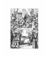 Alice In Wonderland Giclee Print From Sir John Tenniel- Frontispiece fro... - $12.74