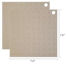2 Silicone Potholder Heat Resistant Mat Heatproof Trivet NonSlip Protect... - $6.99