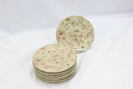 "222 Fifth Savannah Plates Saucers 6.5"" Set of 8 image 2"