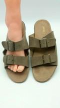 JAMBU J SPORT Women's NEW Carina Sandals - Beige Suede 10M 809 - $14.99