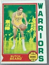 1974-75 Topps #67 Butch Beard Warriors - $0.98