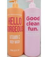 2 Pack  Body Prescriptions Rose  Aloe & Vitamin C Body Wash 32.5 fl oz E... - $28.66