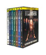 The Closer Complete Series Season 1-7 (DVD Box Set,28-Disc) Brand New - $62.99