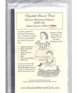 Elizabeth Stewart Clark pattern for infant linens 1840-1865 - $19.80