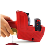 MX-5500 8 Digits Price Pricing Tag Label Gun Labeller Plus Extra Ink (RE... - $11.80