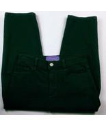 NYDJ Women's Capri Jeans Rhinestone Grommet Size 6 Stretch Dark Wash - $29.70