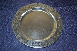 "Wilton Armetale 820034 Tray Reggae Med 12"" Round Made in the USA - $23.01"