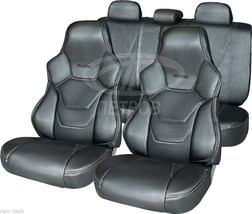 UNIVERSAL SEAT COVERS  PERFORATED LEATHERETTE FOR YOUR CAR - $153.45