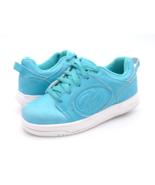 Heelys Unisex Kids 3 Blue Voyager Lace Up Wheeled Skate Sneaker Shoes EU... - $29.99