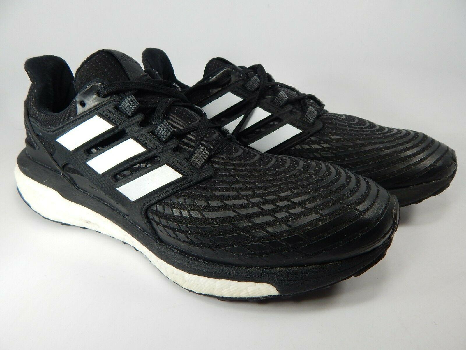 Adidas Energy Boost Misura USA 9.5 M (D) Eu 43 1/3 Uomo Scarpe da Corsa Nero image 2