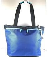 Calvin Klein Nwt Pompey Arzt Nylon Tragetasche Reisetasche Blau Untersch... - $64.34