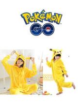 Pokemon Unisex Adult Pikachu Pajamas Kigurumi Cosplay  Animal  Sleepwear - $29.99