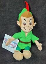 "Disney Store Peter Pan Bean Bag Plush Toy 8"" New - $11.99"