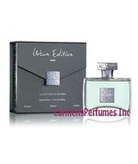 Urban Edition Men EDT Spray 3.4 Oz NAME BRAND SMELLS LIKE CHROME - $19.99