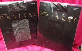 Sheer Caress Gallery Collection Thigh High STOCKING & Fishnet Pantyhose ... - $7.21
