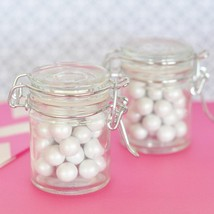Blank Glass Jar with Swing Top Lid - MINI (Set of 20) - $46.95