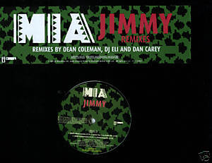 "M.I.A. (12"" Vinyl) Jimmy (6 DJ Remixes) Acapella"