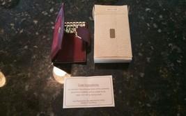 Vintage Avon 1981 Magenta Keycase Key Case RARE COLLECTIBLE New! - $15.50