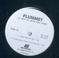 "Plummet (12"" Vinyl) 50 Ways To Leave Your Lover *Remix*"