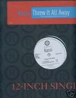 "Kassi (12"" Vinyl) Threw it all Away (4 Remixes)"