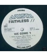 "Faithless  (12"" Vinyl) We Come 1 (4 Remixes)  - $9.99"