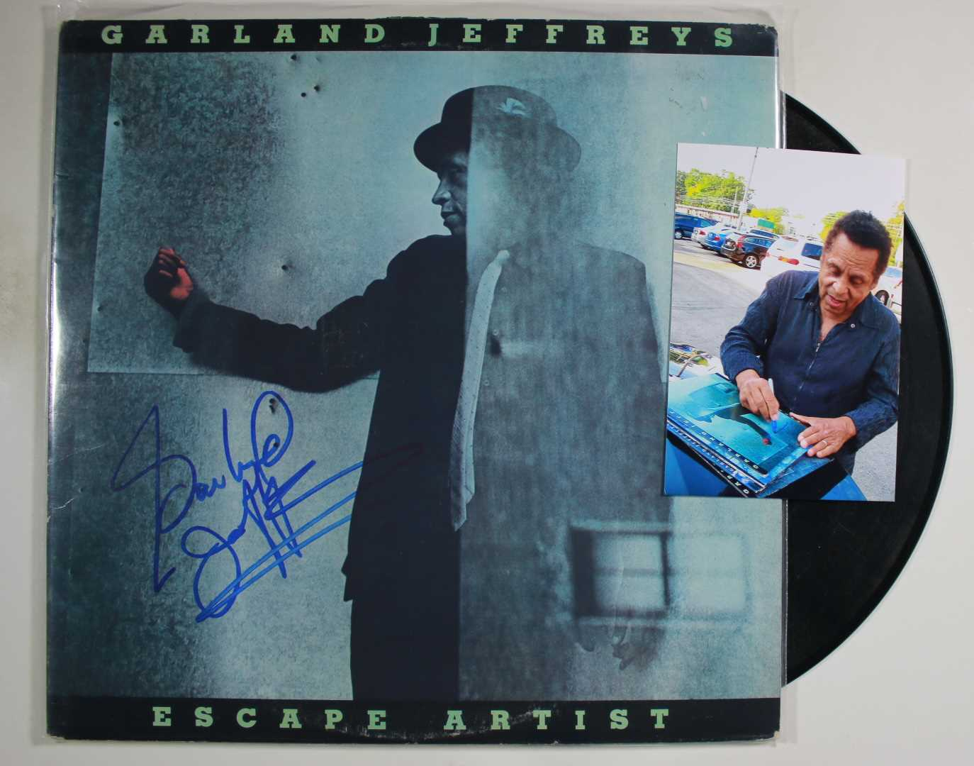 Primary image for Garland Jeffreys Signed Autographed Record Album w/ Proof Photo