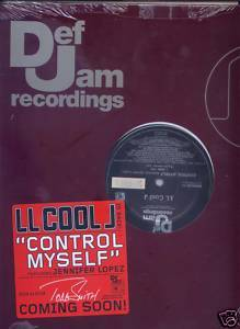 "LL Cool J + Jennifer Lopez (12"" Vinyl) Control Myself"