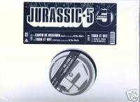 "Jurassic 5 (12"" Vinyl) Turn it Out / Canto De Ossanha"
