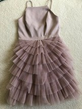 BCBG Maxazria Casandra Dress Special Occasion Pleated Tulle Women 2 NWT ... - $56.09