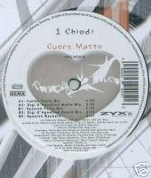"Cuore Matto (12"" Vinyl) I Chiodi (GiGi D'Agostino Mixs)"