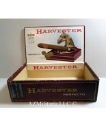 Harvester Charcoal Cured Perfecto Cigar Box (NO CIGARS) - $8.75