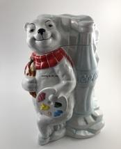 Coca Cola Work of Art Cookie Jar in White - $59.99