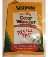 Crayola Color Wonder - 30 Blank Page Coloring Drawing Pad (Paper Refill ... - $3.95
