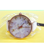 TED BAKER LONDON Women's Watch Floral Pattern Leather Band TE50377002 - ... - $135.00