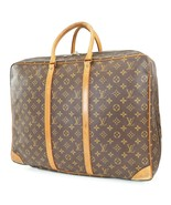 Authentic LOUIS VUITTON Sirius 50 Monogram Suitcase Travel Business Bag ... - $472.50