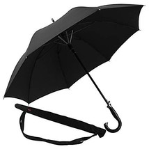 Lejorain Classic Quality Cane Umbrella with Automatic Open 50inch Covera... - $41.96