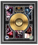 """Kiss """"Alive"""" Gold Record - 22.5"""" x 26.5"""" 24K Gold LP Matted and Framed - $214.95"""