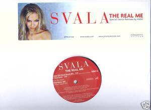 "Svala (12"" Vinyl) The Real Me (4 Remixes)"