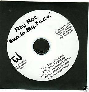 Ray Roc (CD Single) Sun in My Face (5 Remixes)