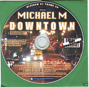 Michael M (CD Single) Downtown (11 Remixes)