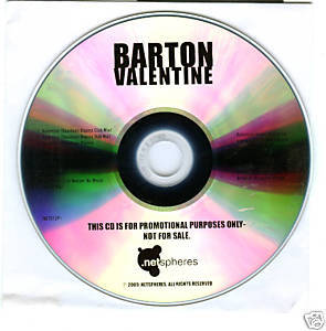 Barton (CD Single) Valentine (6 Remixes) Eric Kupper