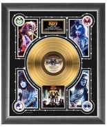 "Kiss ""Love Gun"" Gold Record - 22.5"" x 26.5"" 24K Gold LP Matted and Framed - $214.95"