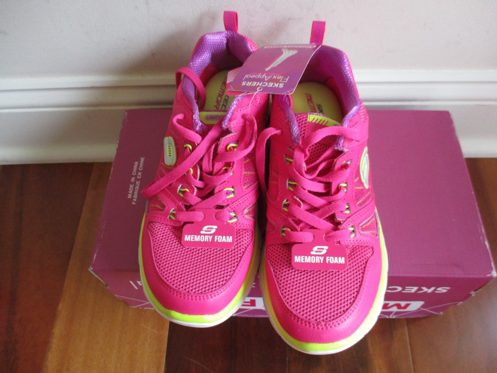 BNIB Skechers Flex Appeal - Spring Fever Womens' Athletic Shoes, ships w/o box image 12