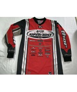 THQ WORLD SUPERCROSS GP JERSEY S Vintage motocross NWOT New Red - $28.49