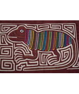 Kuna Abstract Traditional Mola Hand stitched Ap... - $59.39