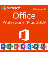 Microsoft Office Professional Plus 2019 for 1 PC -download and keycode - $14.99